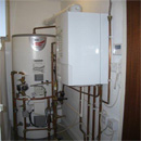 Boiler Replacement to Private House in airing cupboard in Warlingham